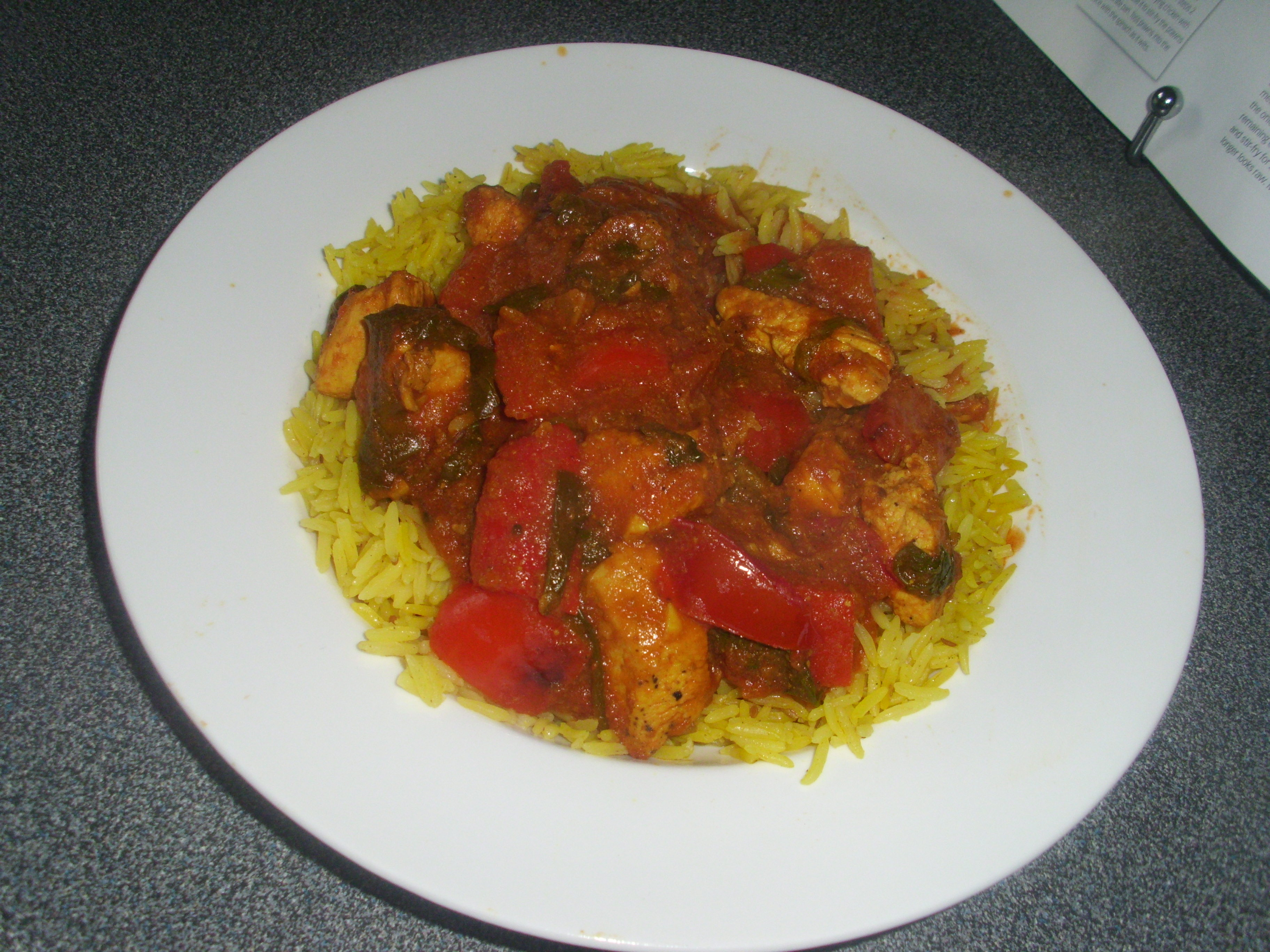 Chicken balti a low fat version for the health conscious tasty this chicken balti dish is just the opposite i got the recipe from one of my good food forumfinder Gallery
